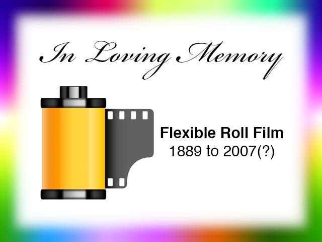 Film Is Dead