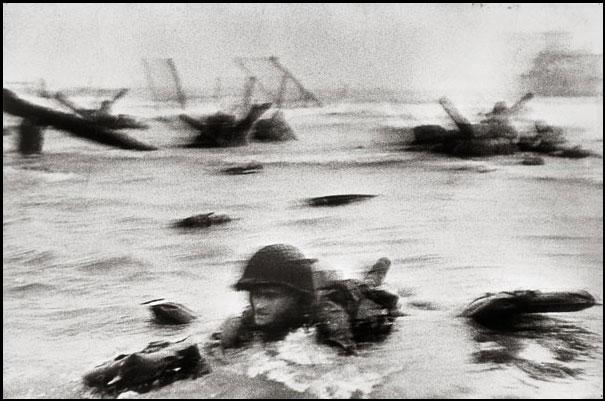 "6 June 1944 - Normandy, France ""D-Day"" Robert Capa - Magnum Photos / Courtesy - Life Magazine"