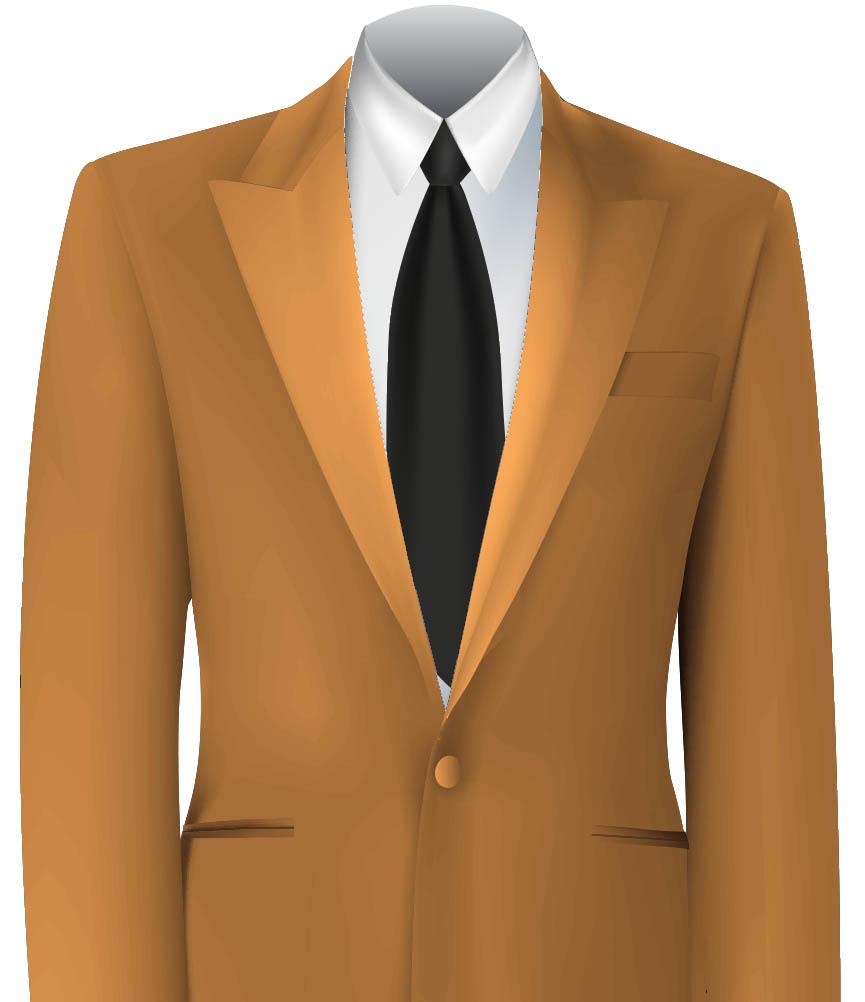 Orange Colour Jacket