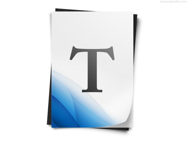 text-document