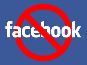 No Facebook Small social media